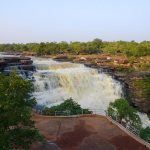 Waterfalls at Chandraprabha Wildlife Sanctuary