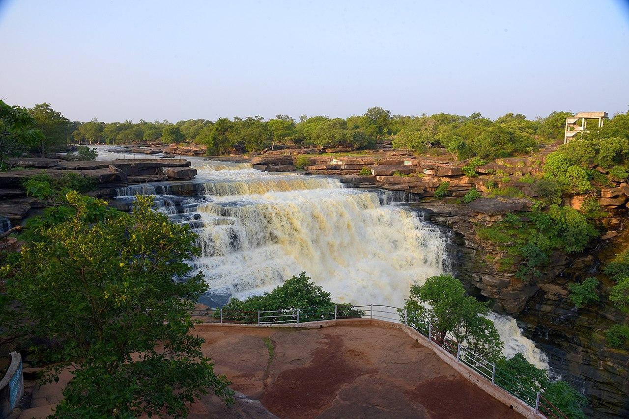 Waterfalls at Chandraprabha Wildlife Sanctuary