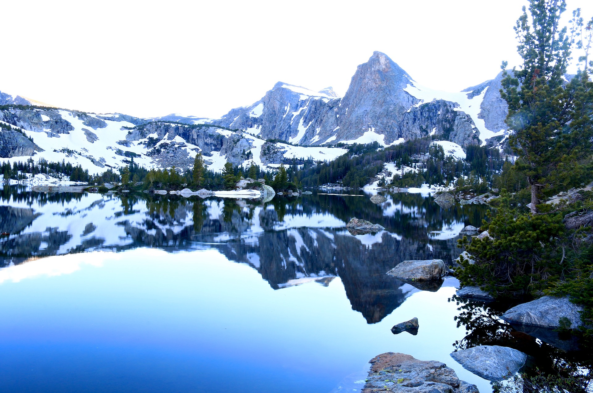 Amazing Attraction in Wyoming-Western Wind River Range
