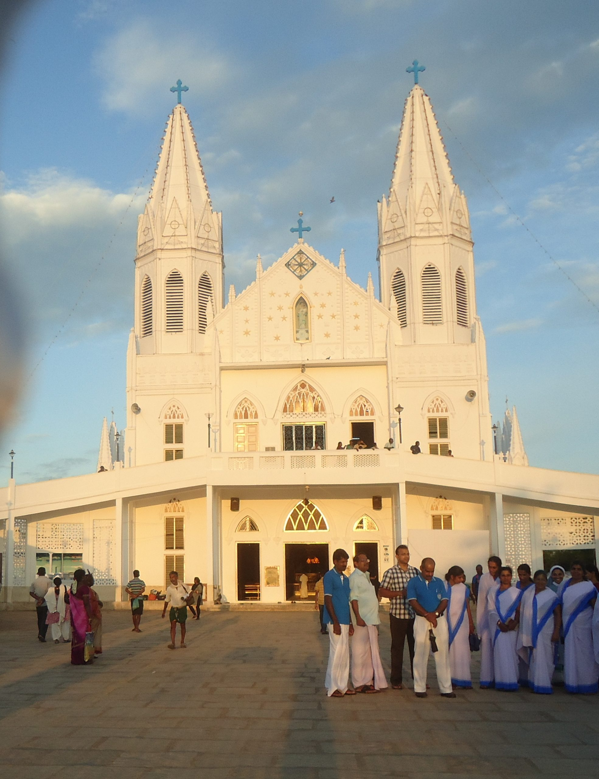 What is the History of the Velankanni Church?