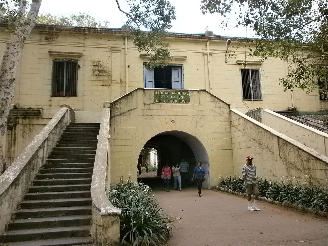 What's Inside the Fort St. George?