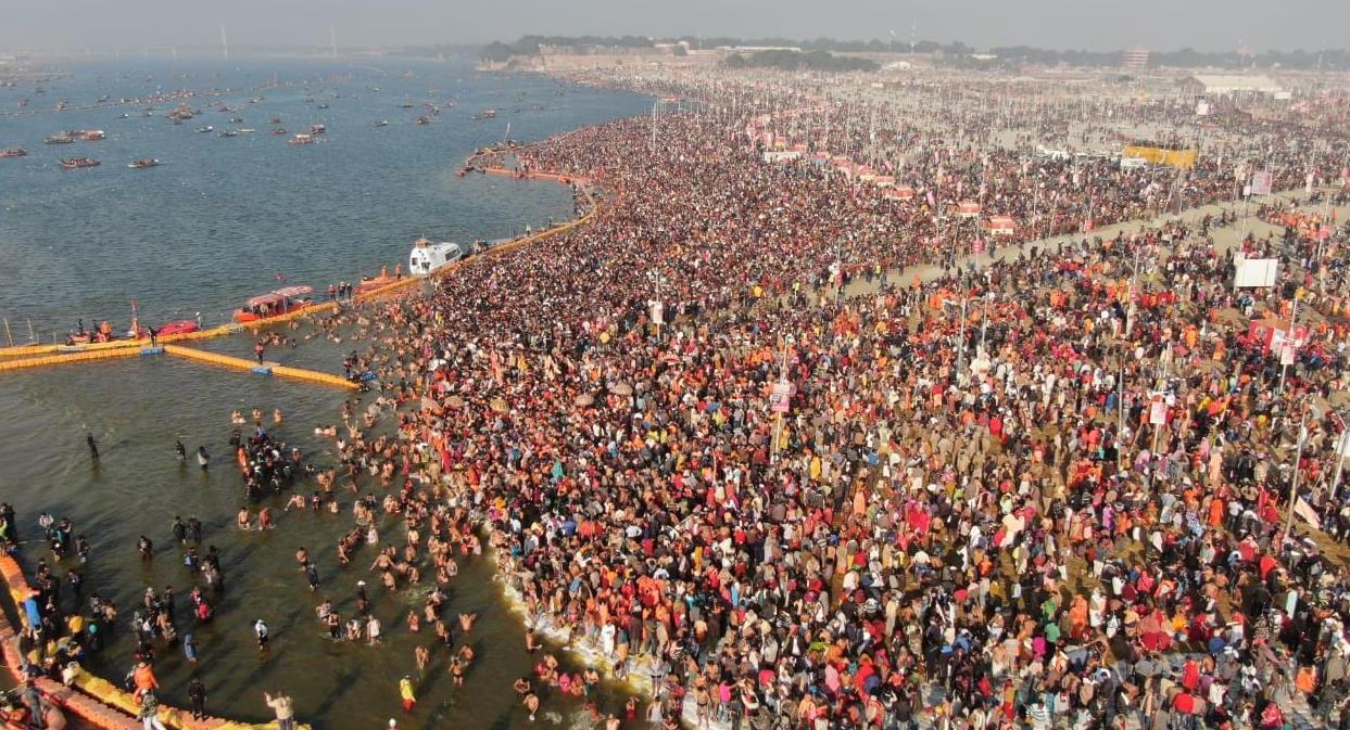 Where Does Magh Mela Take Place?