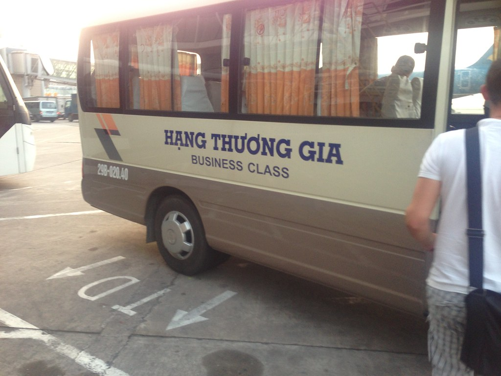 Which public transport is used in Vietnam?