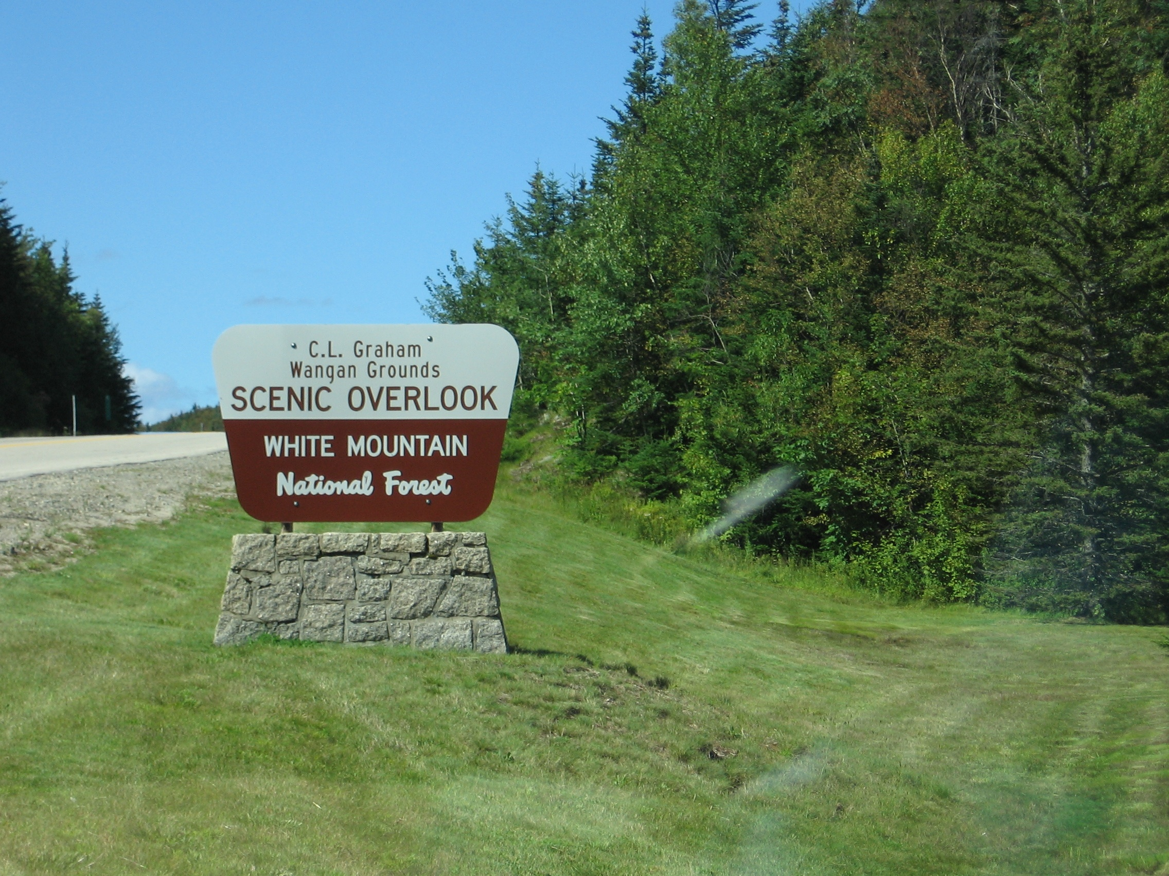 Nice Place to Visit In New Hampshire-Kancamagus Highway and White Mountain National Forest