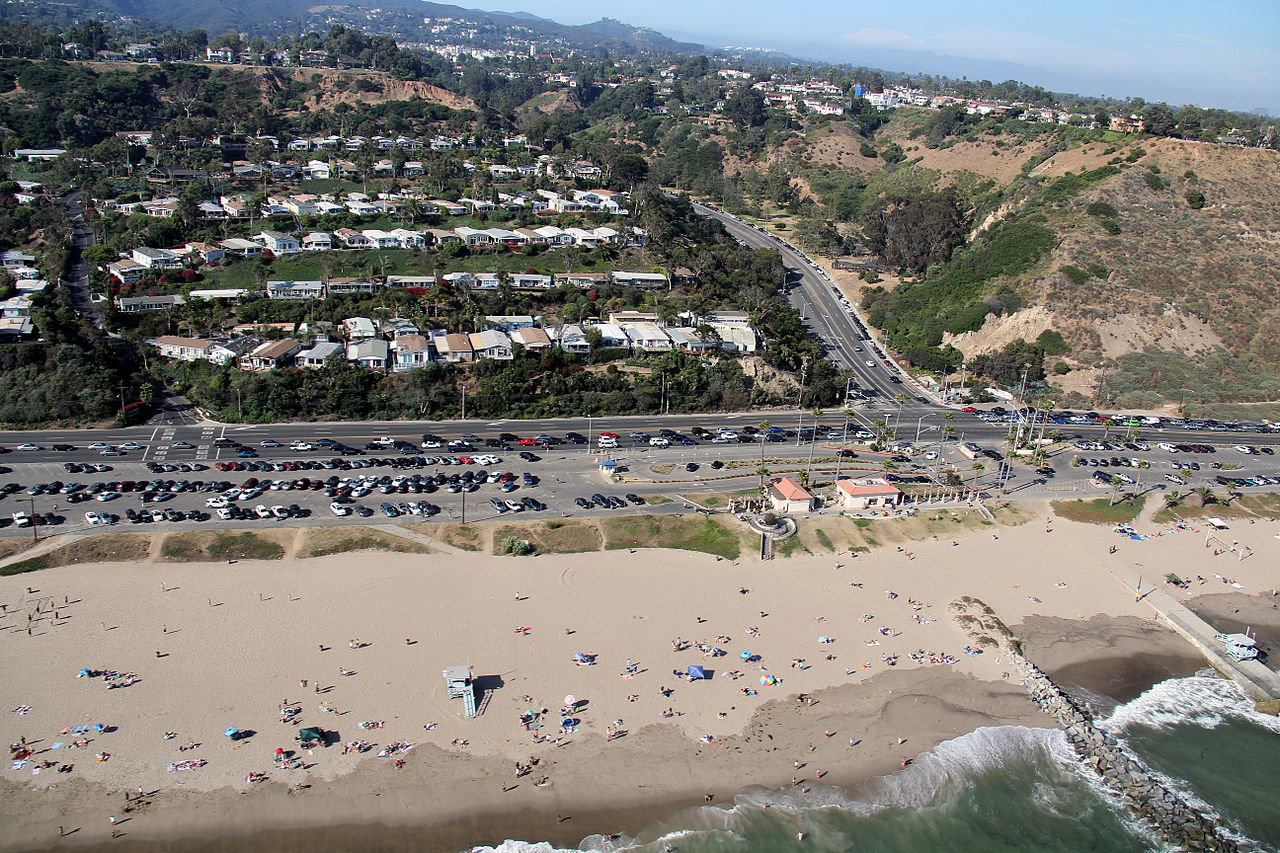 Beautiful Beach Spot in California-Will Rogers State Beach, Pacific Palisades