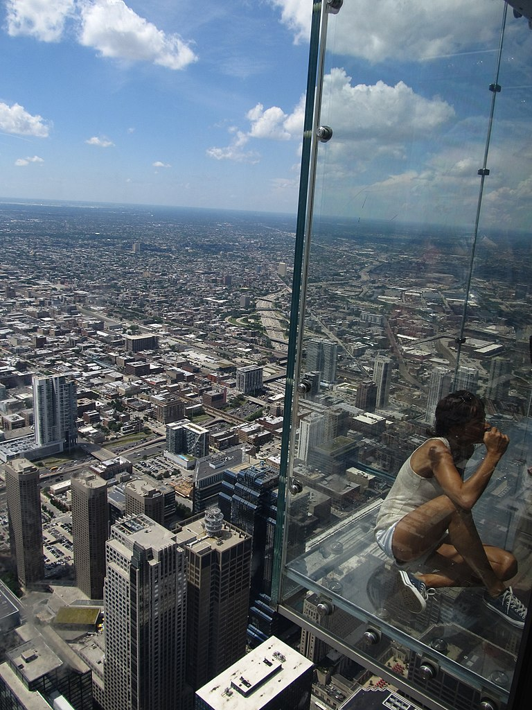 Incredible Place To Visit In Illinois-Willis Tower Skydeck