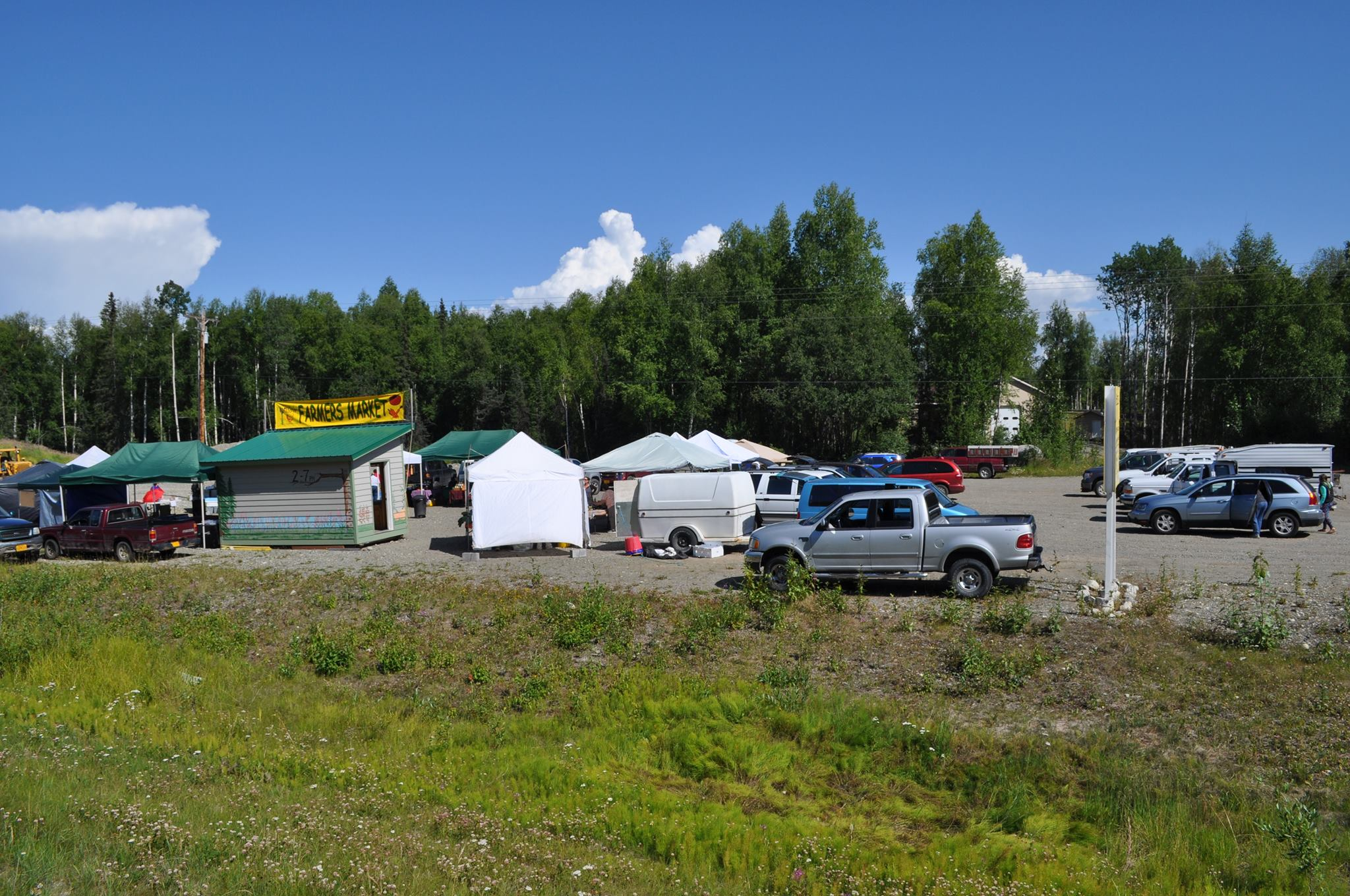 Top Summer Market in Alaska-Willow Farmers Market, Willow, Alaska