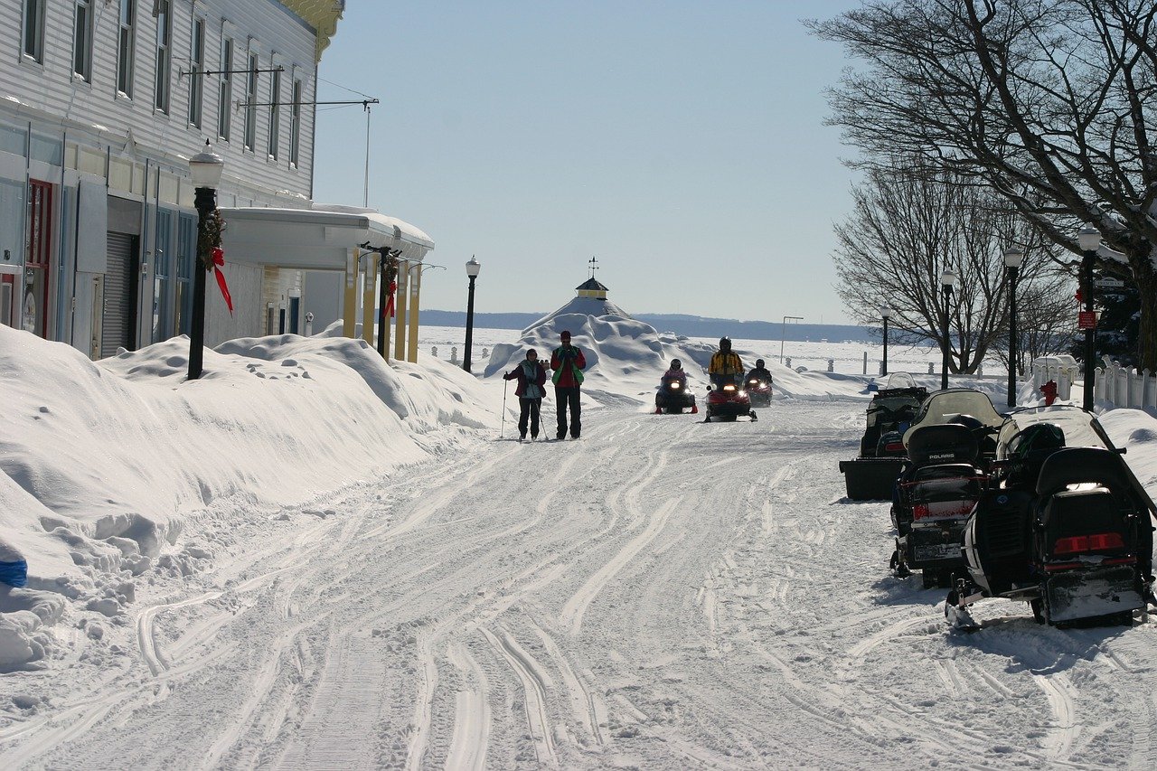 Enjoy the Winters on Mackinac Island