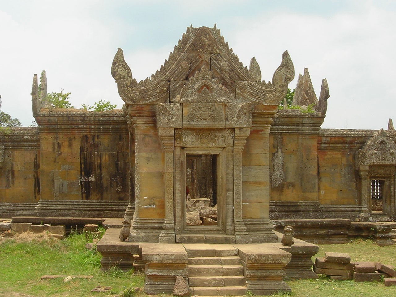 Witness Lush Countryscapes at Preah Vihear, Preah Vihear Temple, Cambodia