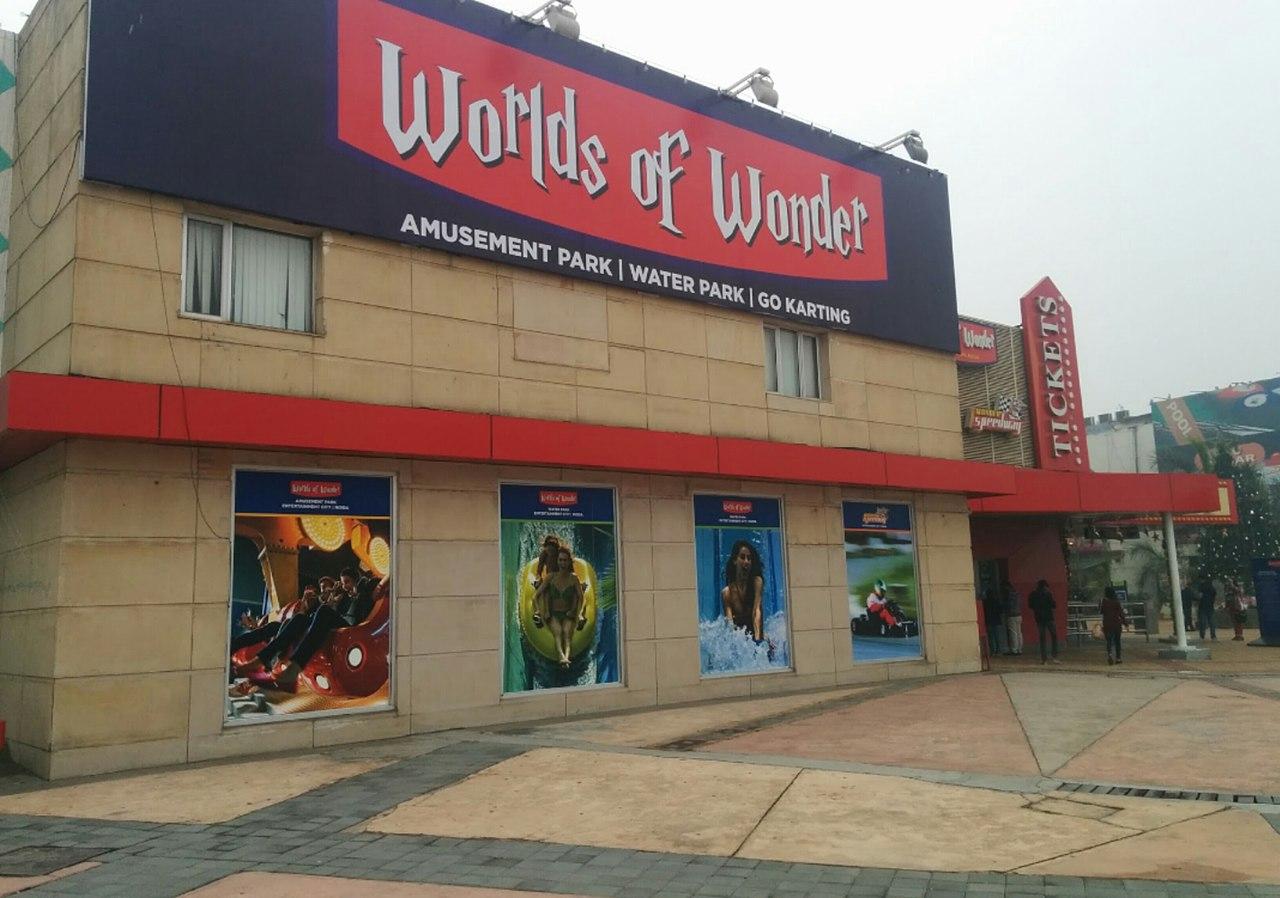 Best Visit Place in Gautam Buddh Nagar, Uttar Pradesh-Worlds of Wonder Amusement Park