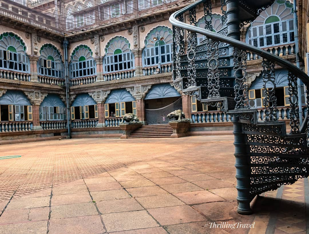 Wrestling Courtyard Places To Visit Inside The Mysore Palace