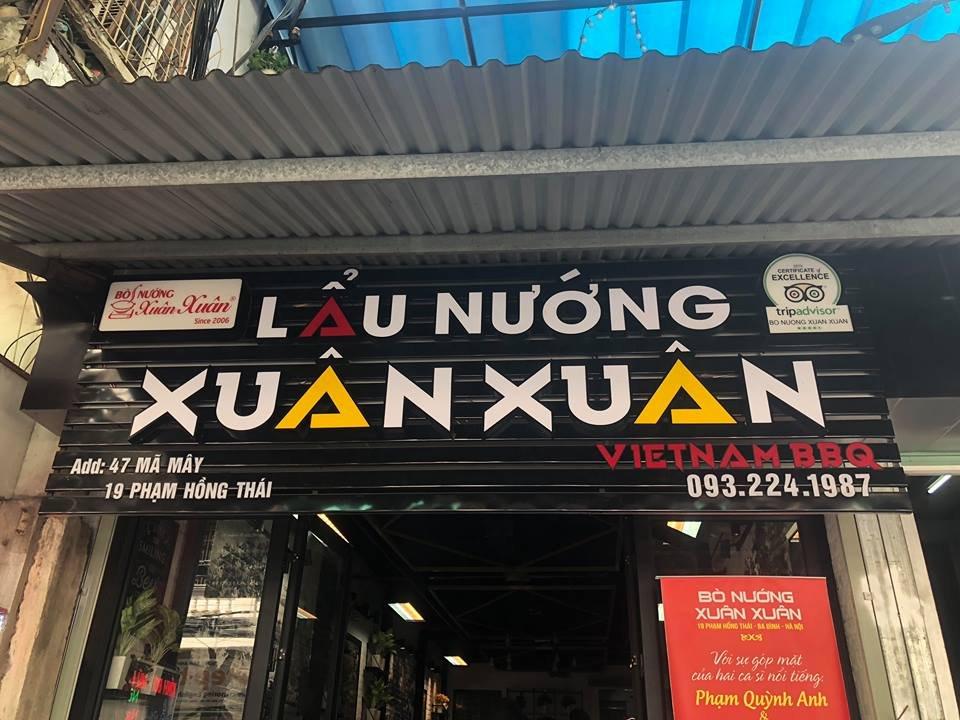 Top Restaurant In Hanoi-Xuan Xuan