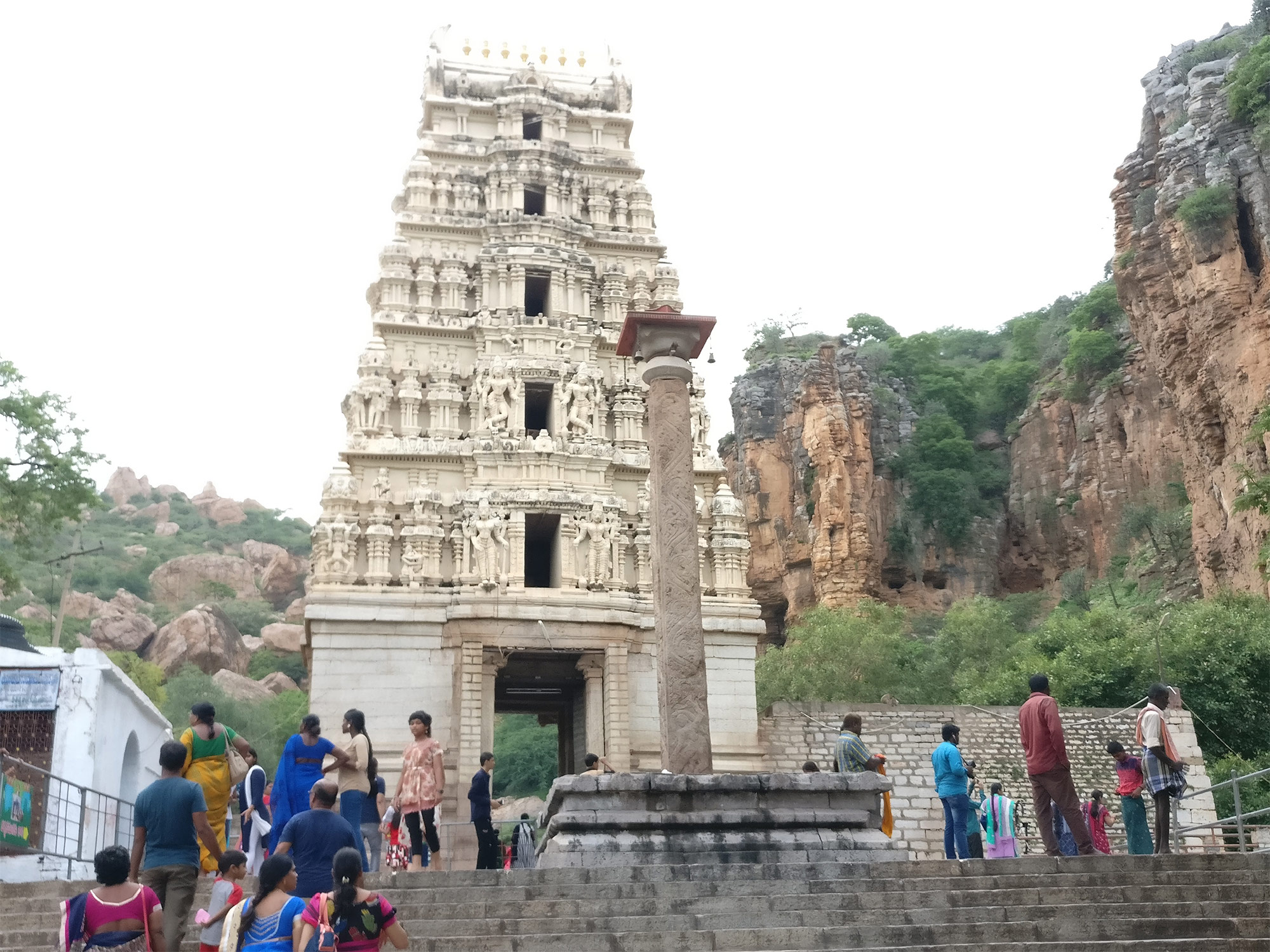 Visit Yaganti Temple in Kurnool