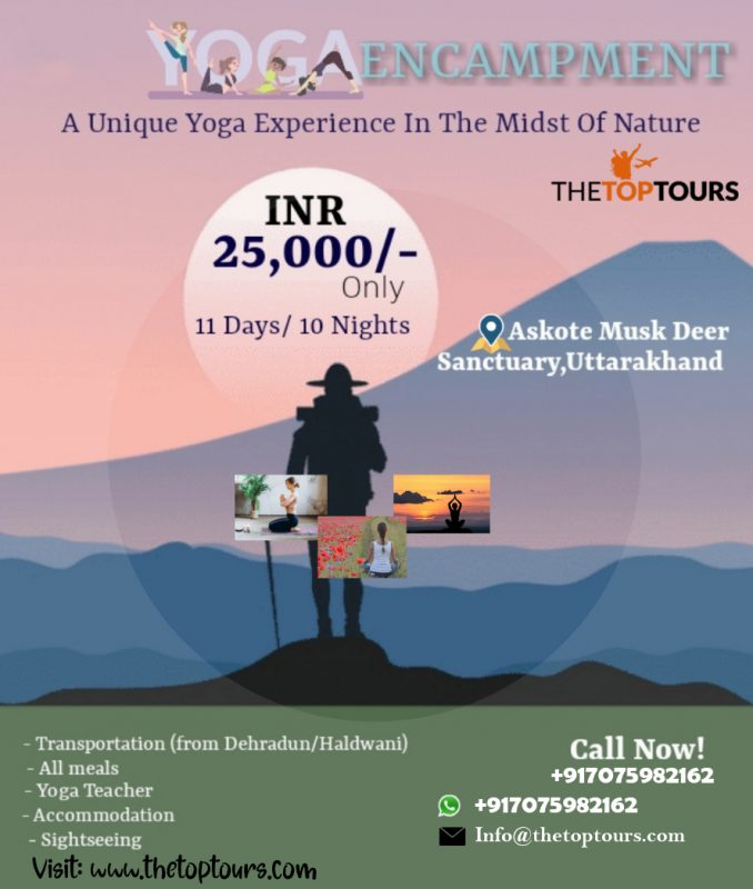 Yoga Encampment Tour Package for 11 Days &10 Nights