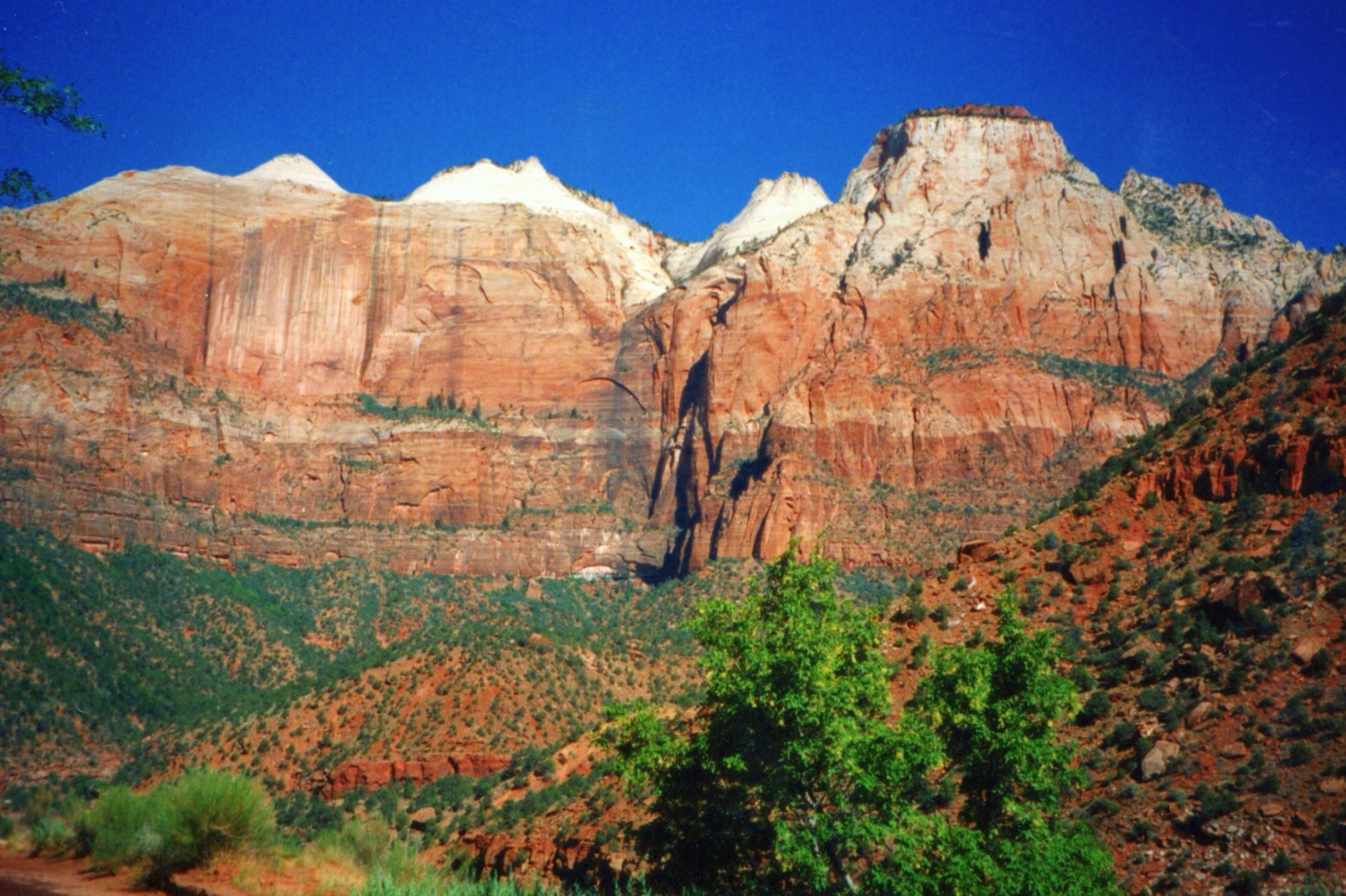 Zion National Park in the United States