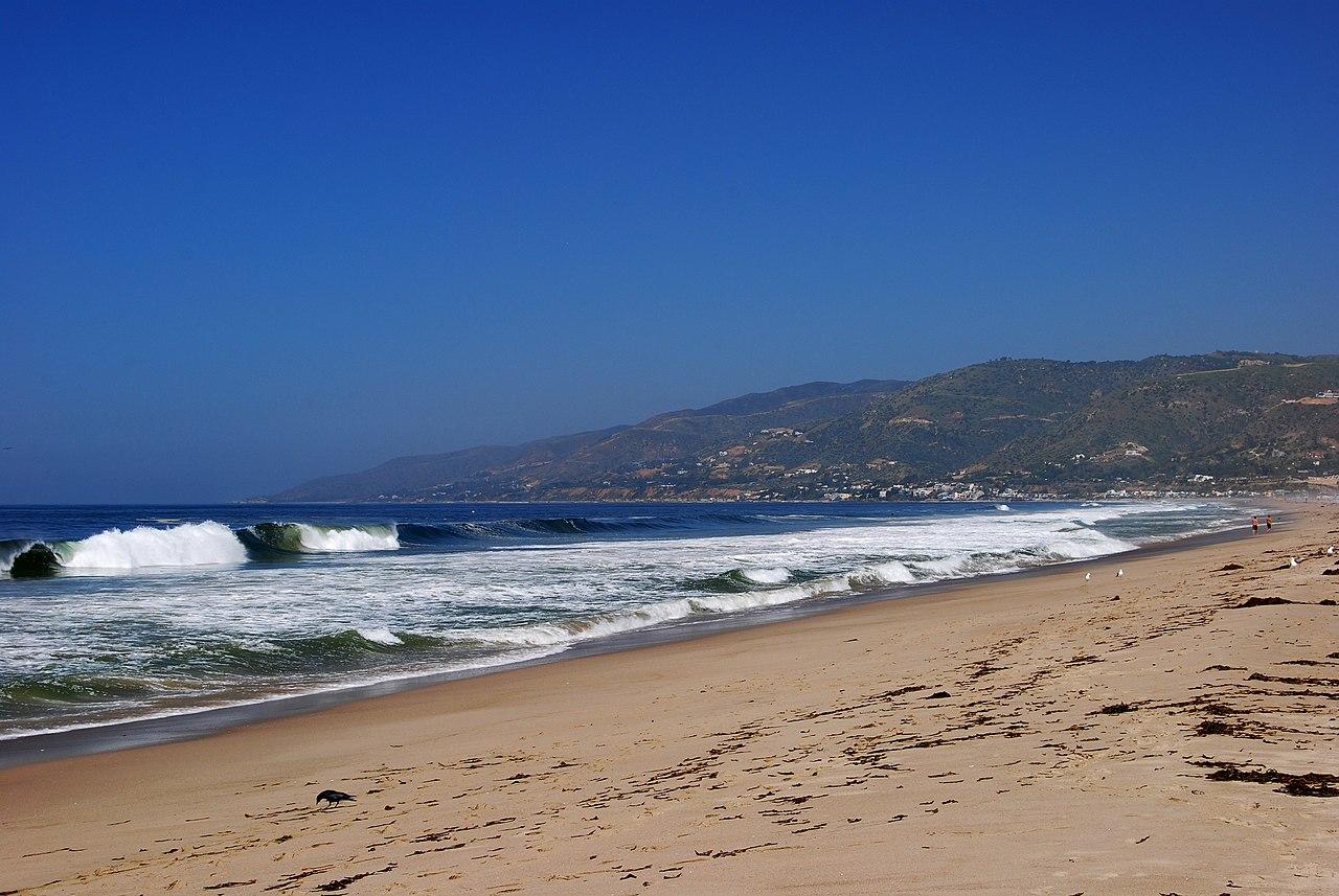 Beautiful Beach Spot in California-Zuma Beach, Malibu